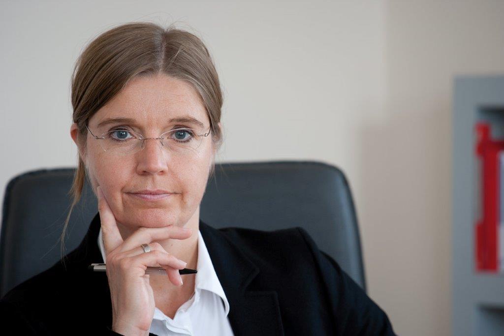 Portrait von Sabine Mayer