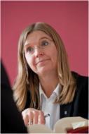 Sabine Mayer als Anwältin tätig